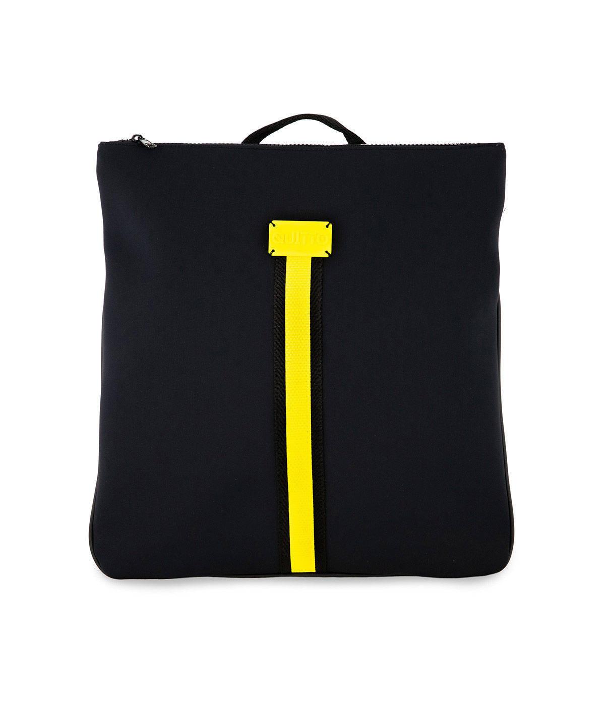 Zaino Basic Neoprene Impermeabile Nero Quitto Bags